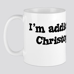I'm Addicted to Christopher! Mug