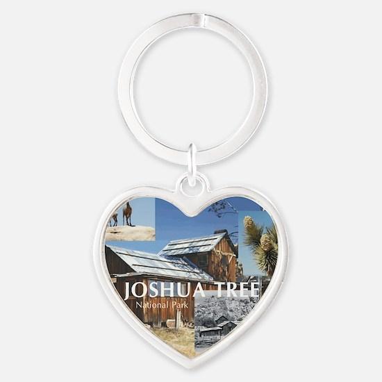 joshuatree1 Heart Keychain