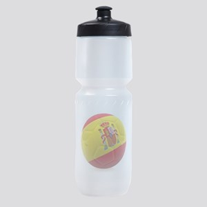 Spain world cup soccer ball Sports Bottle