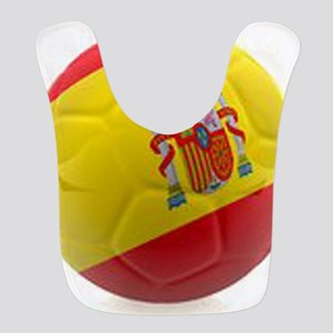 Spain world cup soccer ball Bib
