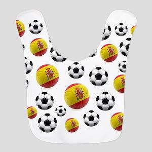 Spain Soccer Balls Bib