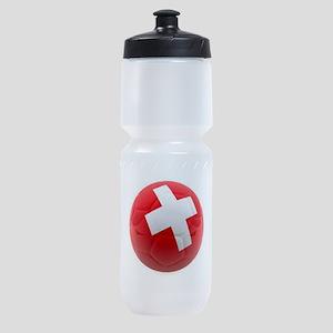 Switzerland World Cup Ball Sports Bottle