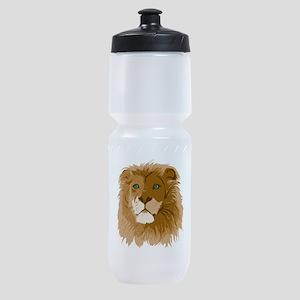 Realistic Lion Sports Bottle