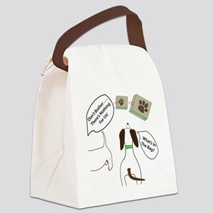 DontBotherWhatsInBagCombo Canvas Lunch Bag