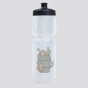 Barrel Monkey Sports Bottle