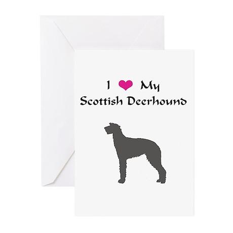 Scottish Deerhound Greeting Cards (Pk of 10)