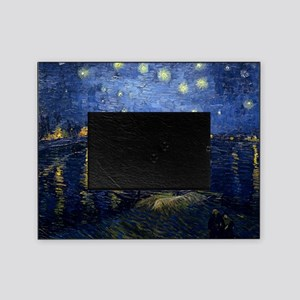 Starry Night Over the Rhone Picture Frame