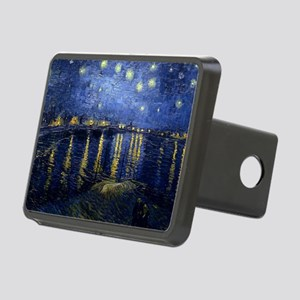 Starry Night Over the Rhon Rectangular Hitch Cover