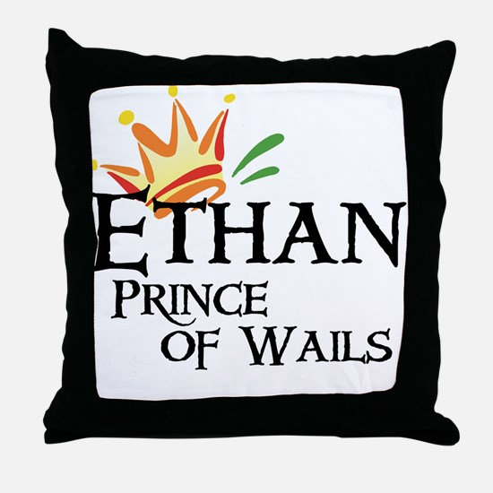 Ethan Prince of Wails Throw Pillow