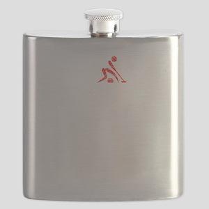 Curling Thing -dark Flask