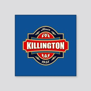 "Killington Old Label Square Sticker 3"" x 3"""