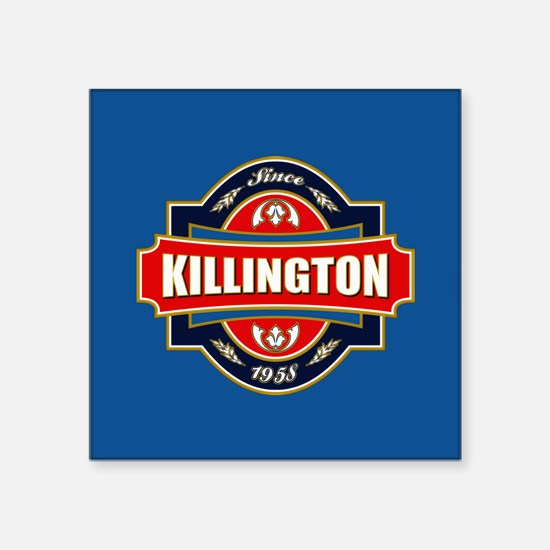 """Killington Old Label Square Sticker 3"""" x 3"""""""