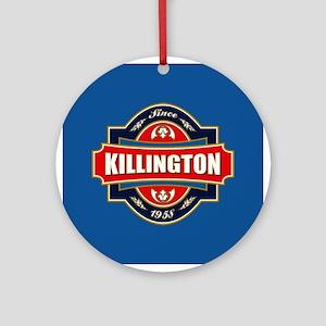 Killington Old Label Ornament (Round)