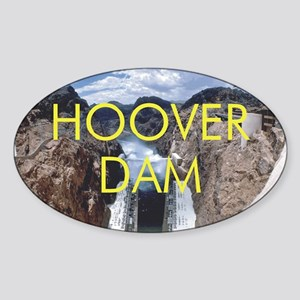 hooverdam1 Sticker (Oval)