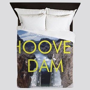hooverdam1 Queen Duvet
