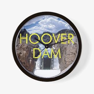 hooverdam1 Wall Clock