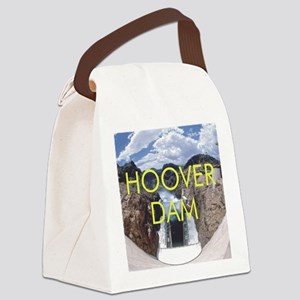 hooverdam1 Canvas Lunch Bag