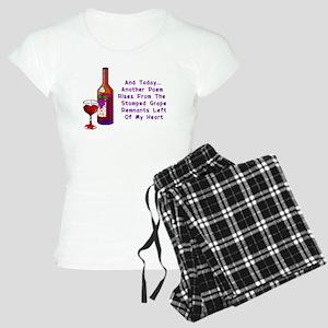 Wine and Poetry Pajamas