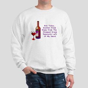 Wine and Poetry Sweatshirt