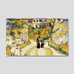 Stairway at Auvers Car Magnet 20 x 12