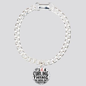 Curling Thing -light Charm Bracelet, One Charm