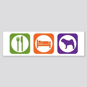 Eat Sleep Shar-Pei Bumper Sticker