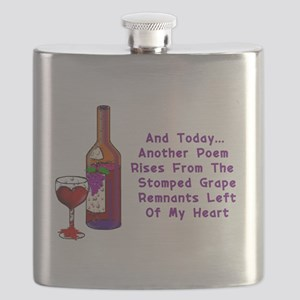 Wine and Poetry Flask