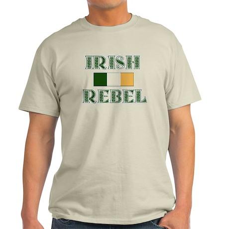 Irish Rebel w/Flag Light T-Shirt