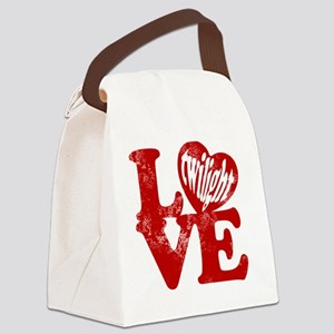 Twilight love Canvas Lunch Bag