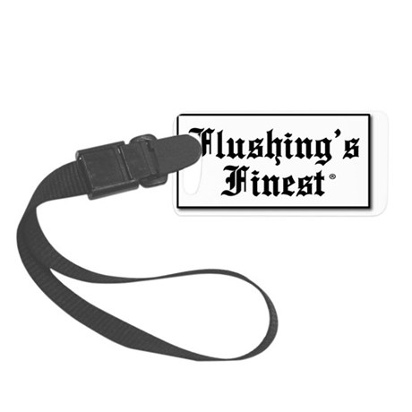 Flushing Finest_box (norm) Small Luggage Tag