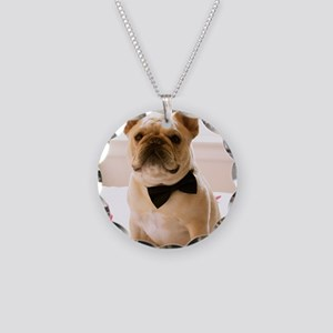 Dressed to the Nines Necklace Circle Charm