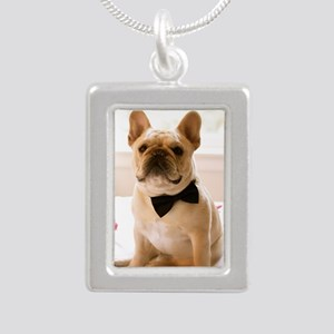 Dressed to the Nines Silver Portrait Necklace