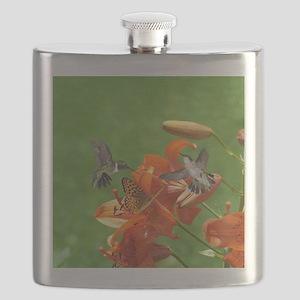 2-ornament Flask