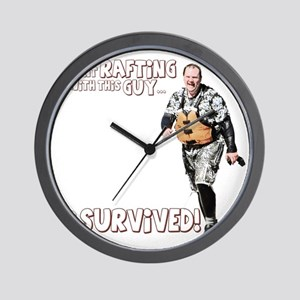 I went Rafting with this Guy T-Shirt Wall Clock