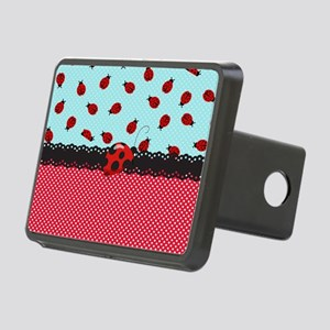 Ladybugs Rectangular Hitch Cover