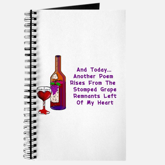 Wine And Poetry Journal
