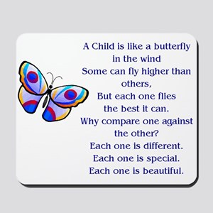 A Child is Like a Butterfly...Special and Beautifu