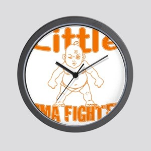 LittleMMAbaby_Orange Wall Clock