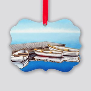 Summer Fog Picture Ornament