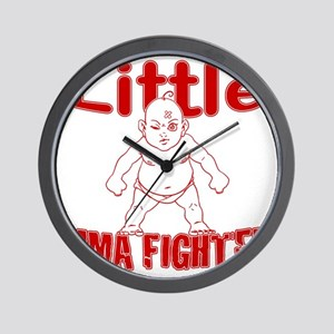 LittleMMAbaby_Red Wall Clock