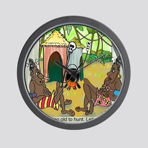 2-7713_anthropology_cartoon Wall Clock