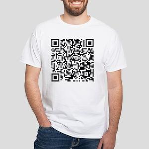 QR White T-Shirt