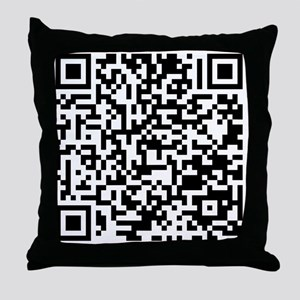 QR Throw Pillow