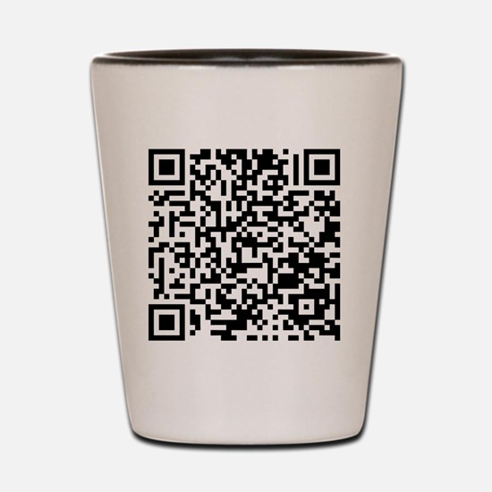 QR Shot Glass