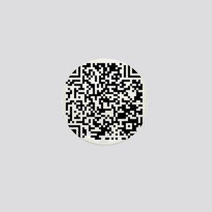 QR Mini Button