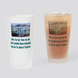 Aspen Drinking Glass