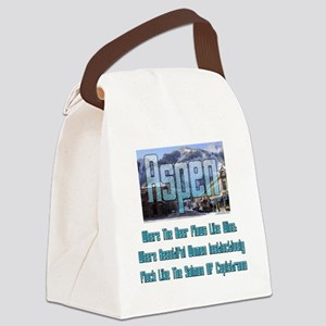 Aspen Canvas Lunch Bag