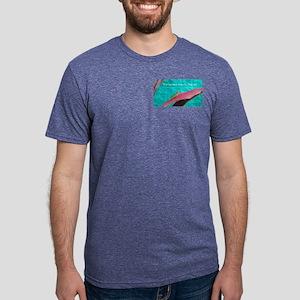 Holy Anole Fernandina Beach Mens Tri-blend T-Shirt