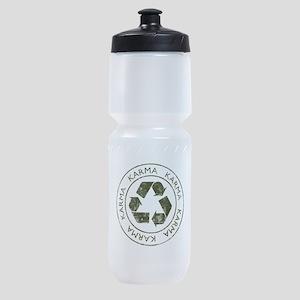 Vintage Karma Sports Bottle