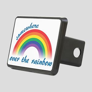 rainbow Rectangular Hitch Cover